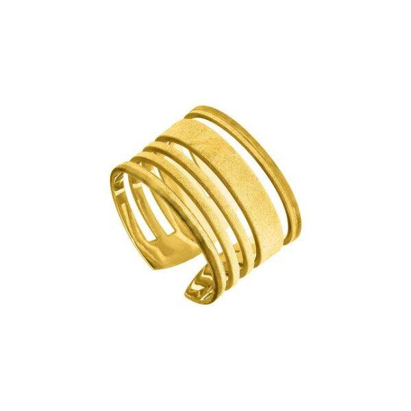 Δαχτυλίδι μεσσαίο με κενά
