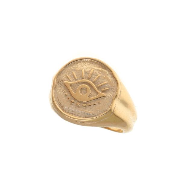 Δαχτυλίδι σφραγίδα μάτι