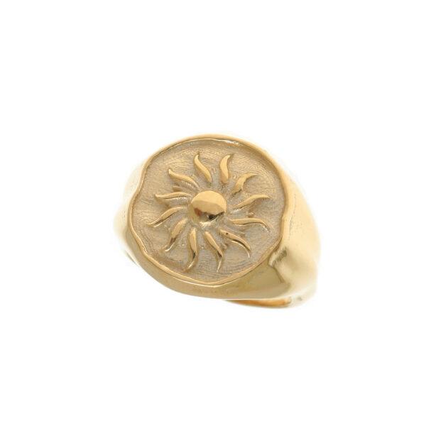 Δαχτυλίδι σφραγίδα ήλιος