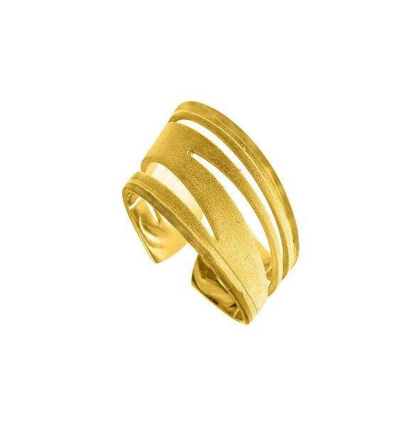 Δαχτυλίδι φαρδύ με κλίση